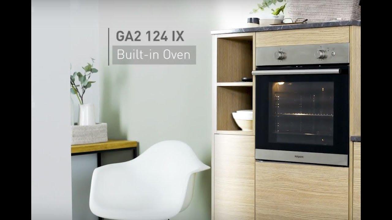 Hotpoint Ga2 124 Ix Built In Oven Youtube