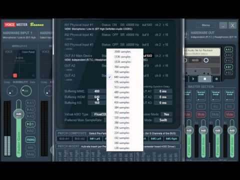 Hướng dẫn cài đặt Phần mềm Voicemeeter va stereomix (Phan 6)