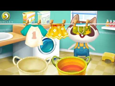 Kids Learn About Household Chores For Children With Dr Panda Home Fun Educational Games For Kids