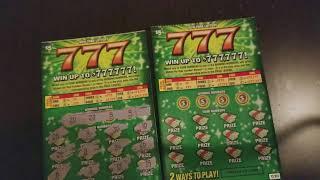 777 NY Lottery scratch-off 2018