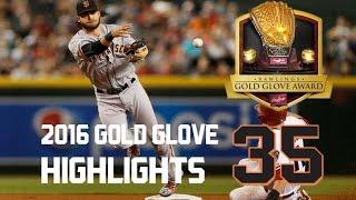 Brandon Crawford | 2016 Gold Glove Highlights