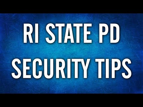 Cybersecurity Doesn't Have To Be Spooky - Captain John Alfred - RI State Police