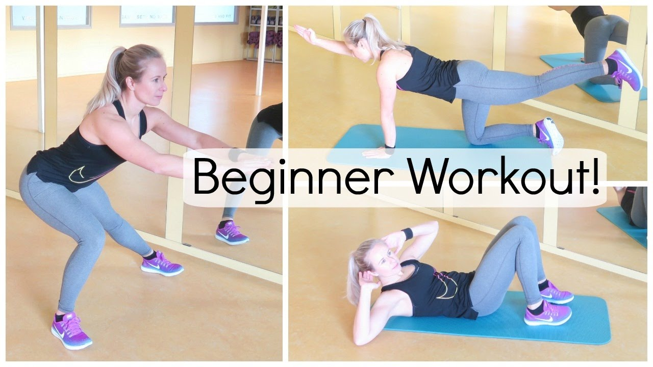 Complete 30 Min Beginner Workout Oefeningen Voor Thuis Youtube