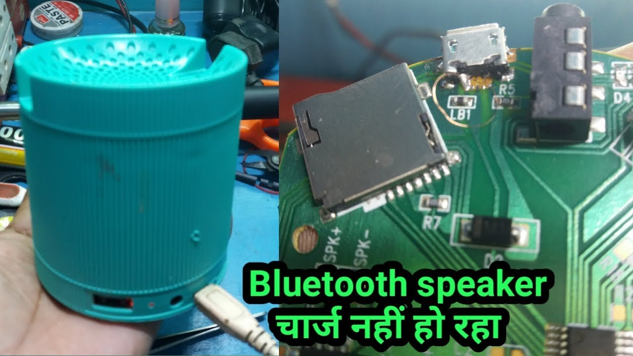 Repeat bluetooth speaker charging port repair||bluetooth
