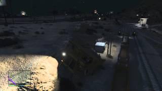 GTA V: Train vs. Dumptruck