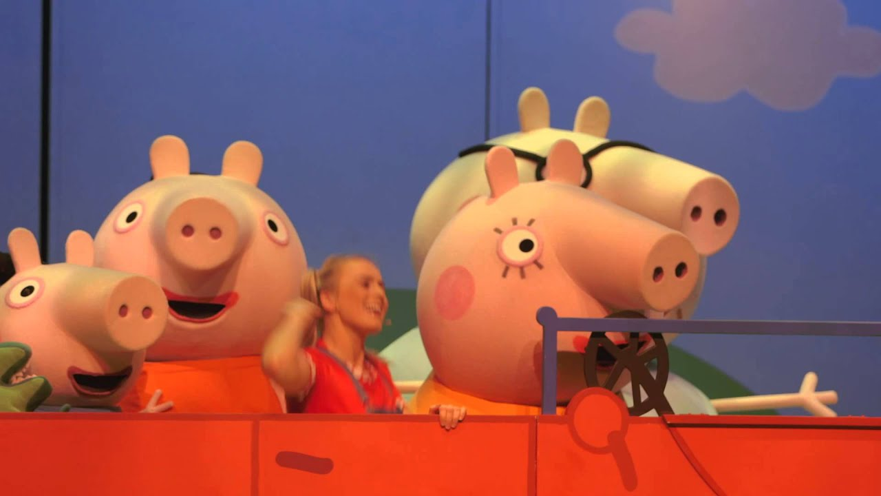 Win A Family Pass To Peppa Pigs Surprise Show Heart