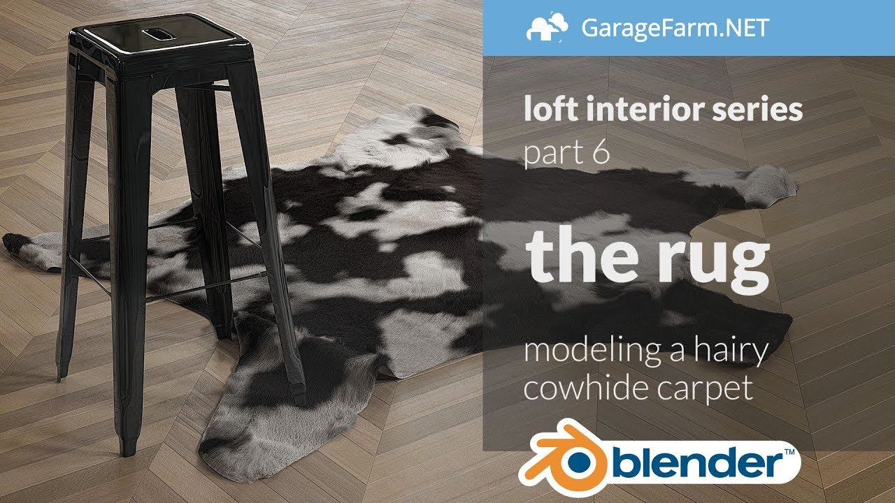 Blender Loft Interior Tutorial Series Part 6 The Rug Youtube