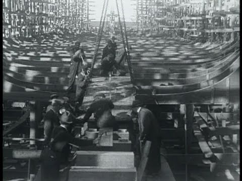 The Art of Shipbuilding in the 1930's