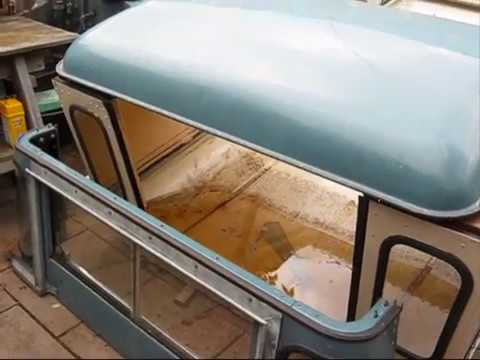 Land Rover Series 3 Stage One , Roof Cab Purchase And Dash Repair..2/9/2016
