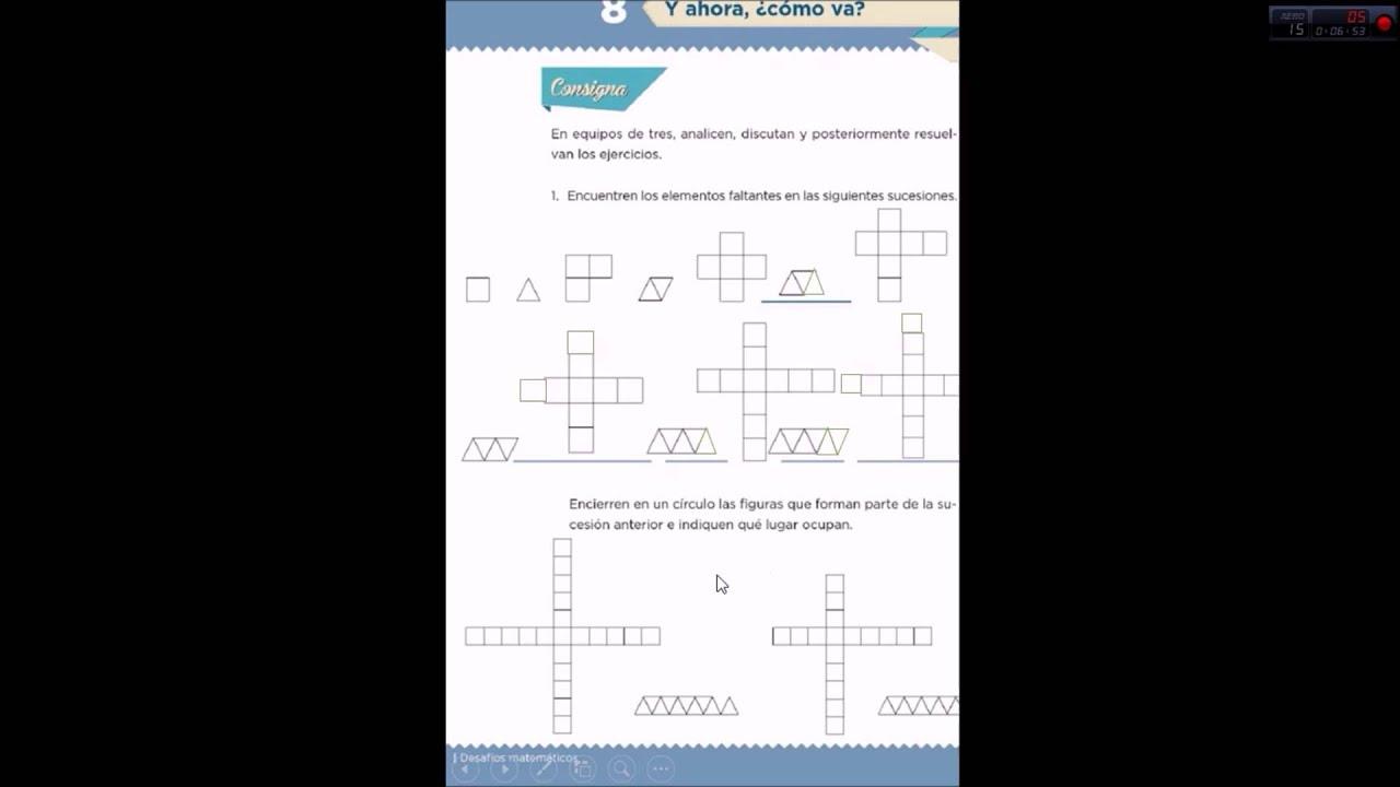 Página 3 De 5: Leccion8 Desafios Matematicos Cuarto Grado
