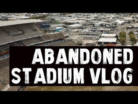 EXPLORING AN ABANDONED STADIUM | Christchurch Vlog