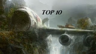 Top 10 Airlines - Top 10 Countries with the most aircraft crashes 2013