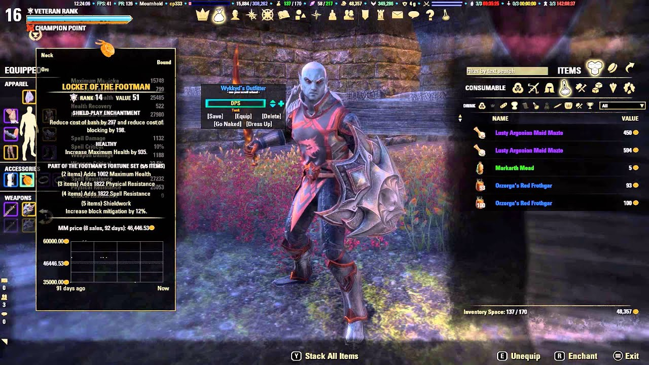 Eso Dragonknight Tank Build