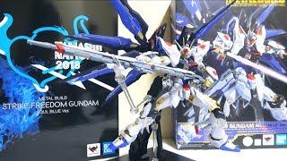 【魂ネイション2018限定】METAL BUILD ストライクフリーダムガンダム SOUL BLUE Ver.ヲタファのレビュー / Metal Build Strike Freedom Gundam