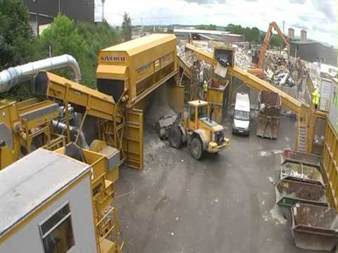 Materials Recovery Facility at Wm Tracey supplied by Blue Machinery.mpg