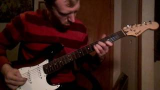 The Eagles - Hotel California Electric Guitar freestlye improv cover