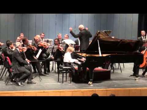 Yoav Levanon (8) with Moscow Virtuosi - Vladimir Spivakov.