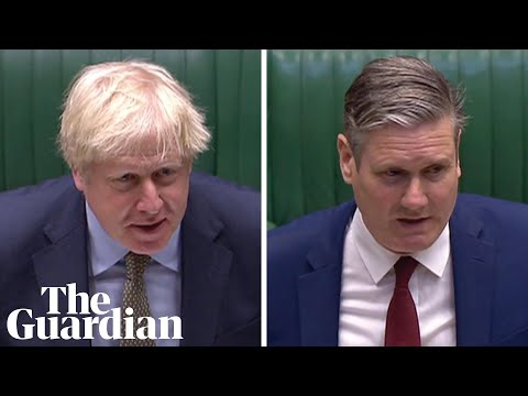 Russia report: Keir Starmer questions Boris Johnson at PMQs