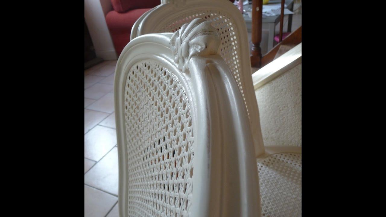 peindre des chaises en merisier