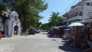 Прогулка по поселку Ханиоти (Халкидики) - Дарья Элионис(Сегодня мы прогуляемся по небольшому курортному поселку Ханиоти (Hanioti) который находится на полуострове..., 2016-07-26T22:46:34.000Z)