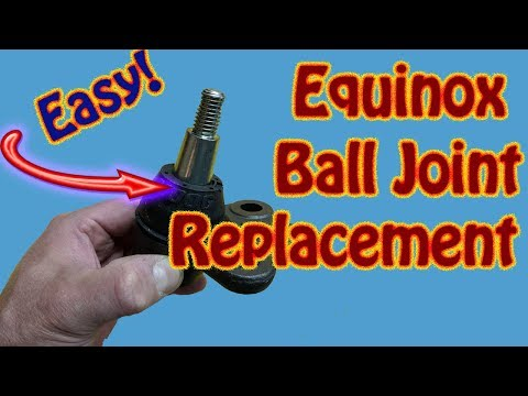How to Replace Ball Joints On a Chevy Equinox – GMC Acadia \ GMC Terrain Ball Joint Replacement