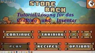 Stoneback Prehistory Tutorial Lösung für das Crafting System und dem Inventar