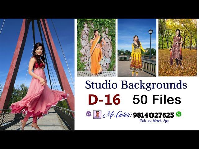 DVD 16 Studio Background