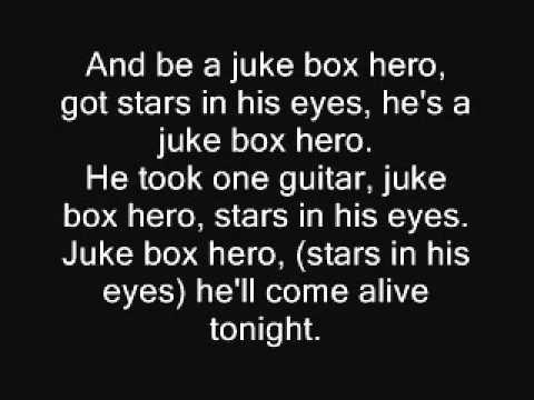 Foreigner - Juke Box Hero Lyrics