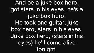 Foreigner - Juke Box Hero Lyrics