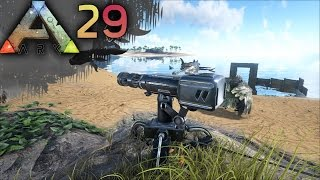 ARK: SURVIVAL EVOLVED E29 - Automatic Turrets & Painting Fun | Docm77 [1080p]