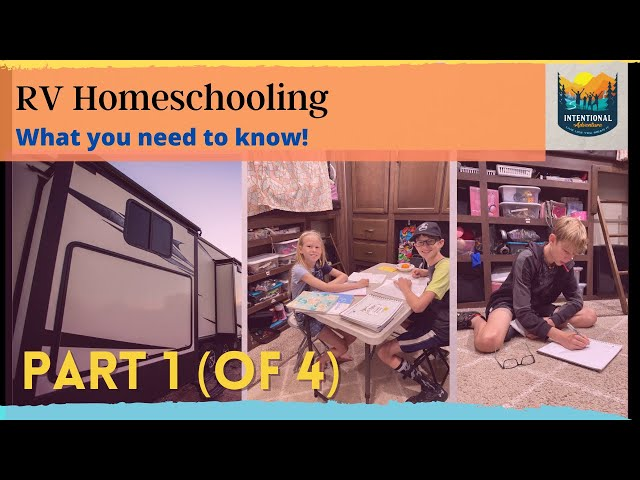 RV Homeschooling | What you need to know! | Fulltime RV Living