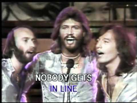 Video   Bee Gees   Too Much Heaven Live Unicef   Karaoke