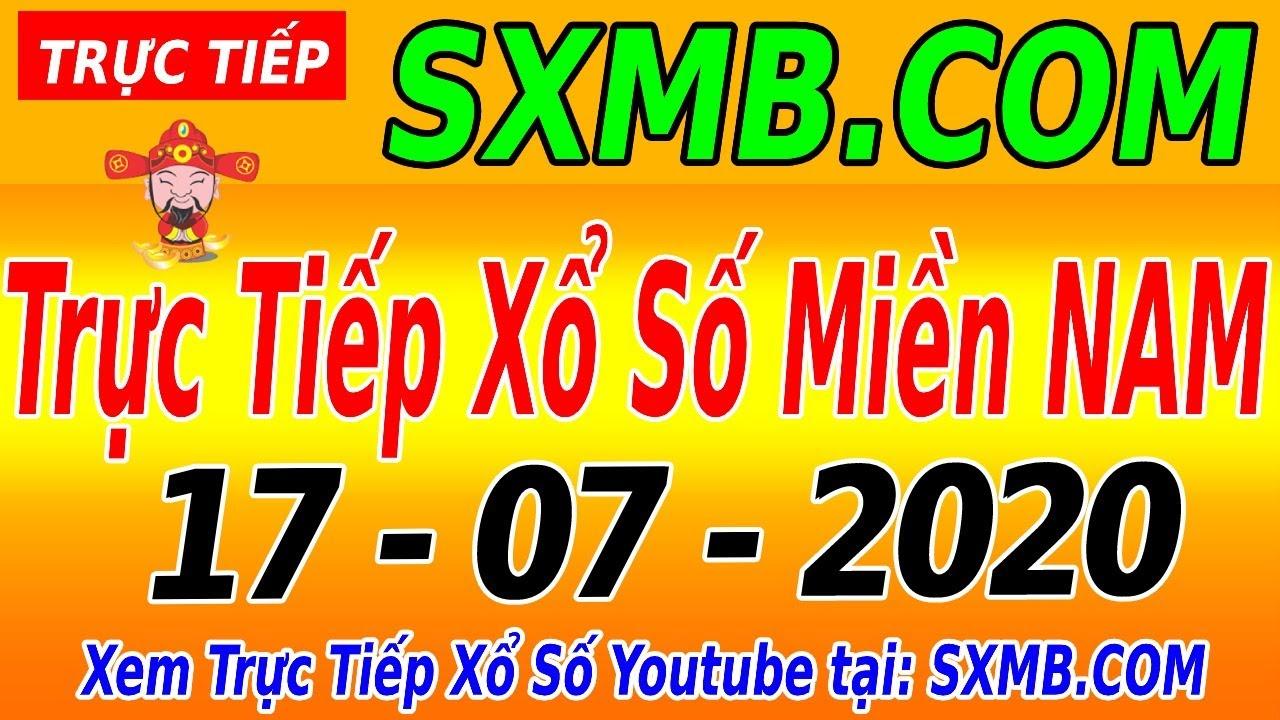 XSMN TRỰC TIẾP XỔ SỐ MIỀN NAM HÔM NAY THỨ 6 NGÀY 17/07/2020, KQXS MIEN NAM