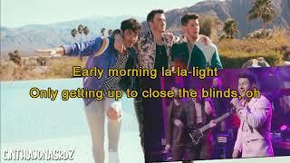 Karaoke Only Human Jonas Brothers
