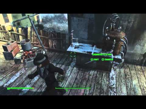 Fallout 4 Disassemble And Transport Junk Chem Youtube