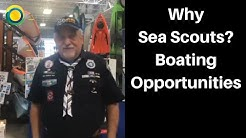 Sea Scouts and Boating Opportunities during West Marine Big Event in Jacksonville, Florida