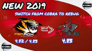 NEW 2019 HOW TO SWITCH FROM FERROX TO REBUG 4.83 PS3 JAILBREAK