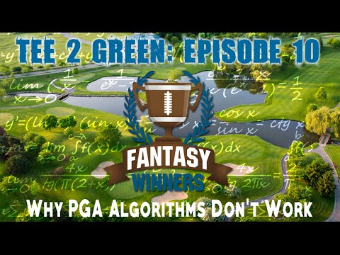 Why You Can't Just Rely on a PGA DFS Algorithm