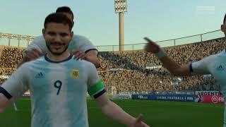 FIFA 20 | Argentinië (alt.) - Engeland (alt.) ('REAL FACES') ('No Rules') (NL comm.)