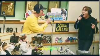 Lee Hongki 이홍기 @ 홍키라 Live Singing - FTISLAND WIND w Seventeen Seungkwan 승관- 30 Mar 2018