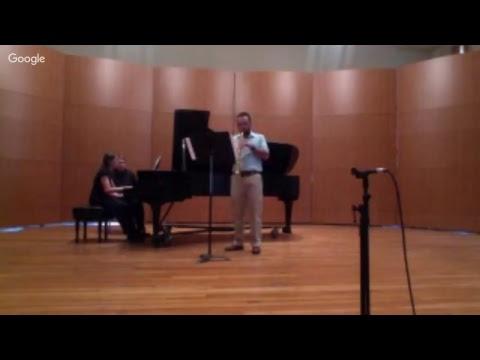 The Joint Recital of Joe Moore and Joe Scheiber