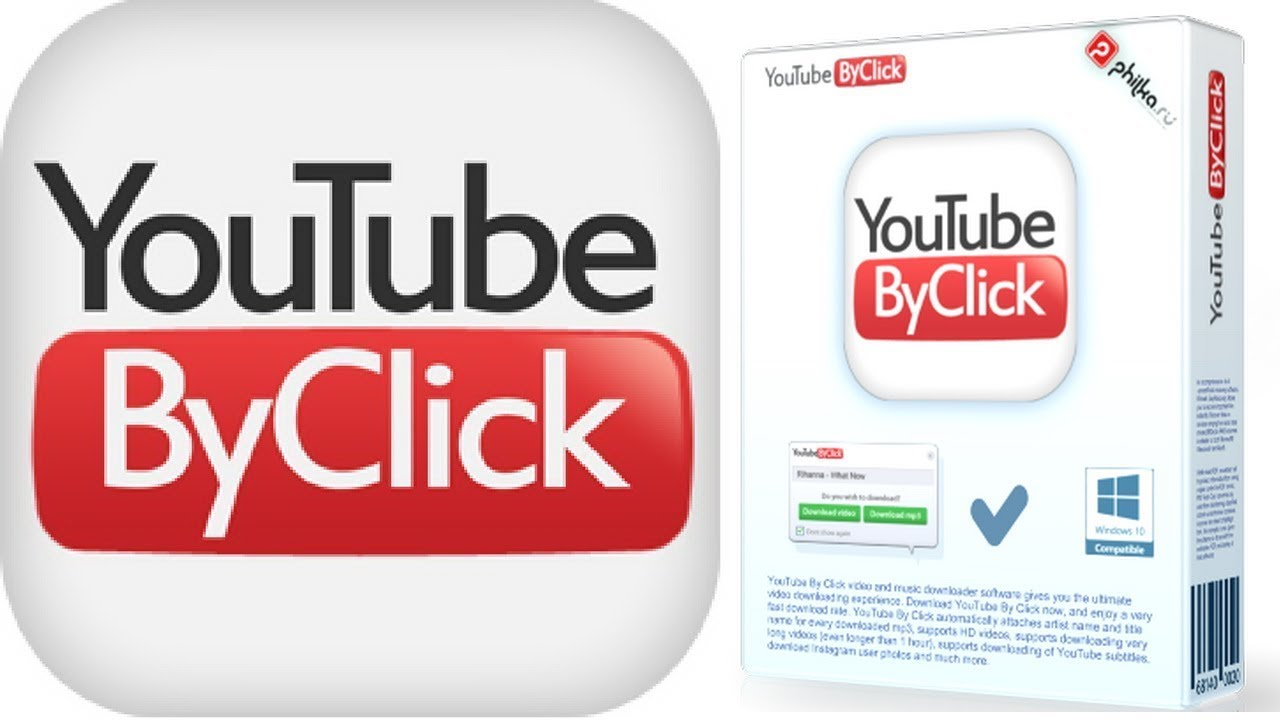Youtube by click free alternative | YouTube to MP4 & MP3