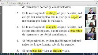 09 La Fundamenta Instruo de Ŭonbulismo | 에스페란토 원불교 정전 공부 (zoom)
