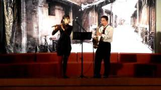 Can you feel the love tonight (flute & saxophone duet)