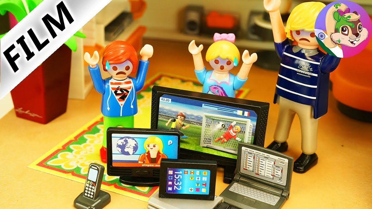 Playmobil Film Hindi 24 Ghante vidyut upakaran ke sivay Challenge ek din Smartphone ke bajay