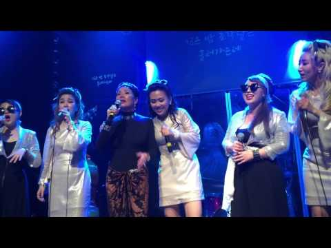 Kim Sook-Ja (Kim Sisters) 'Tears Of Mokpo'. Mimi Sisters, Barberettes Lee Nan Young Seoul 2016.6.4.