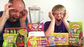 Warheads Smoothie Challenge : WheresMyChallenge tribute, Crude Brothers