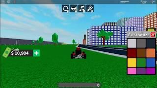 ROBLOX Racing Car Top