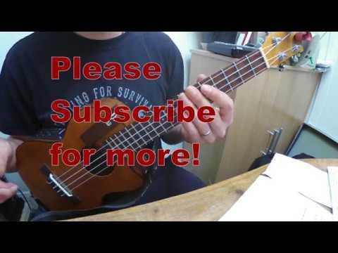 Africa Toto Ukulele Fingerstyle Tutorial Original Key Youtube