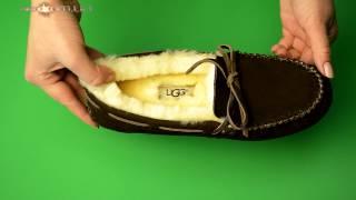 Женские мокасины UGG Dakota Slipper (обзор) Угги Дакота Слипер